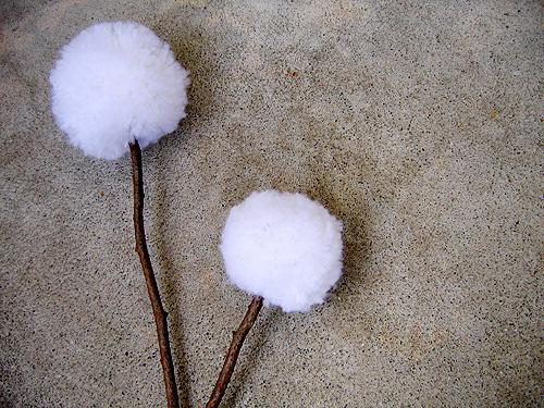 Pom Pom Flower Branches