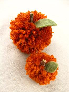 Pom Pom Pumpkin Tutorial
