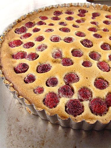 Gluten Free, Sugar Free Brown Butter Raspberry Tart