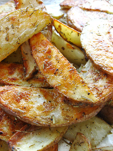 Rosemary Thyme Oven Fries