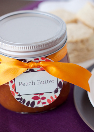 Sugar Free Peach Butter