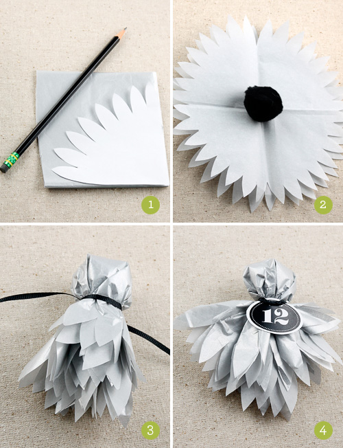 How To Make Tissue Paper Ghosts