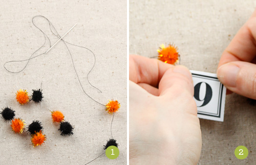 How to Make a Mini Pom Pom Garland