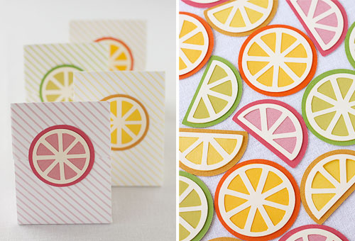 Die Cutting Files Citrus Slices