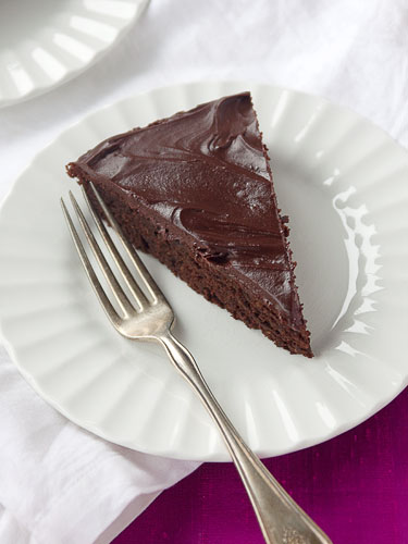 Gluten and Sugar Free Chocolate Beet Cake